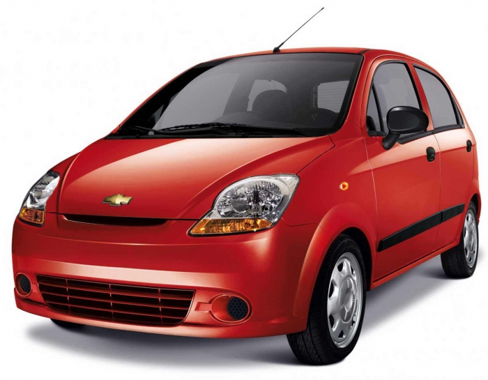 Chevrolet Matiz, Fiat  Panda or similar