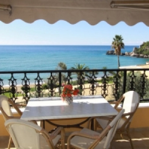 Glyfada Beach - Menigos Resort - Type AA5G (nr.46): Sea View 2 Bedroom Luxury Apt.