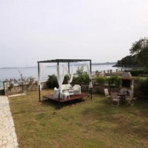 Beachfront Barbati Villa 1