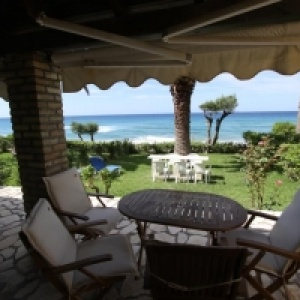 Glyfada Beach - Menigos Resort -  Beachfront 1 Bedroom House-Type AB3G