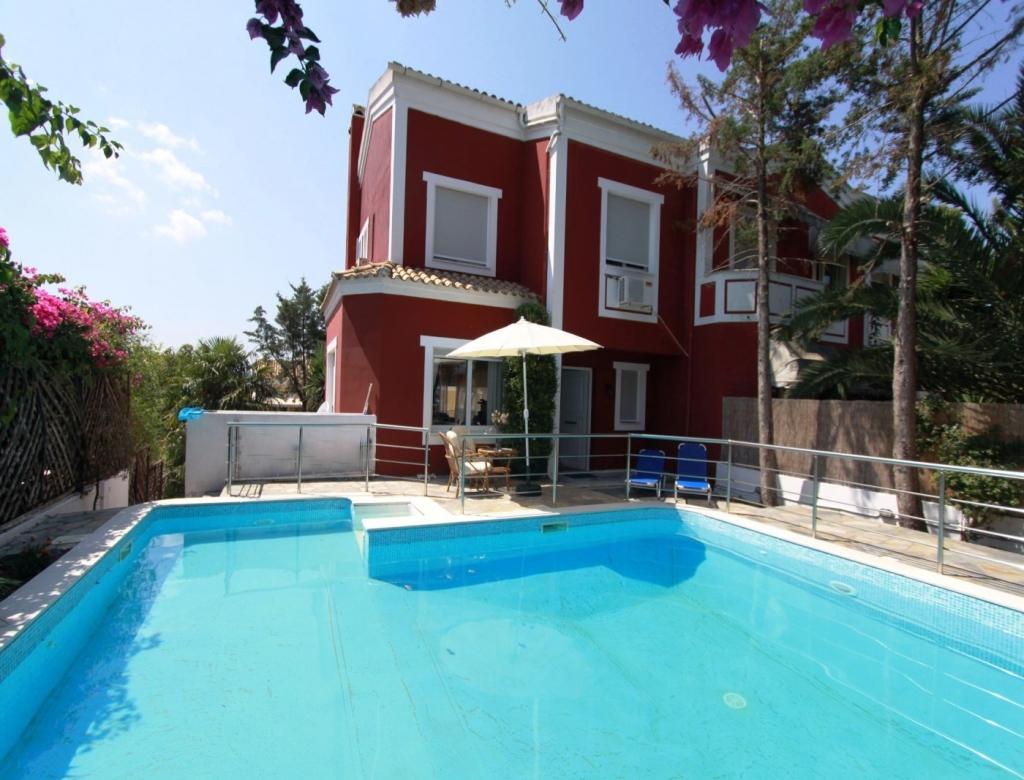 Top Corfu island - Luxury Villas - Apartments - Hotels - Corfu Villa  SV37